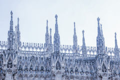 Μιλάνο, Duomo Στοκ φωτογραφία με δικαίωμα ελεύθερης χρήσης
