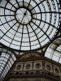 Μιλάνο Galleria Vittorio Emanuele ΙΙ στοκ φωτογραφία με δικαίωμα ελεύθερης χρήσης