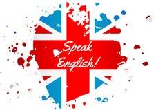 Μιλήστε τα αγγλικά ελεύθερη απεικόνιση δικαιώματος