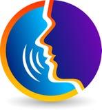 Μιλήστε το λογότυπο Στοκ φωτογραφία με δικαίωμα ελεύθερης χρήσης