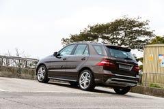 Μιλ.-κατηγορία ML500 SUV 2012 της Mercedes-Benz Στοκ εικόνα με δικαίωμα ελεύθερης χρήσης