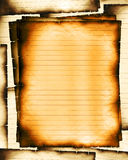 μμένα κυβερνημένα φύλλα ελεύθερη απεικόνιση δικαιώματος