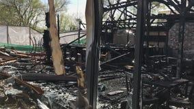 Μμένη ζημία πυρκαγιάς λεσχών φιλμ μικρού μήκους