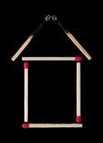 Ασφάλεια πυρκαγιάς για το σπίτι σας Στοκ εικόνα με δικαίωμα ελεύθερης χρήσης