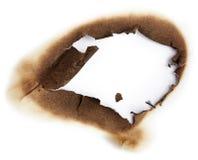 Μμένη τρύπα του εγγράφου Στοκ εικόνες με δικαίωμα ελεύθερης χρήσης