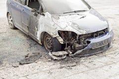 Μμένο αυτοκίνητο στην οδό Στοκ φωτογραφίες με δικαίωμα ελεύθερης χρήσης