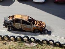 μμένο αυτοκίνητο Στοκ φωτογραφίες με δικαίωμα ελεύθερης χρήσης