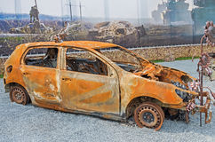 μμένο αυτοκίνητο Στοκ εικόνα με δικαίωμα ελεύθερης χρήσης