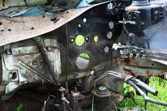 μμένο αυτοκίνητο Στοκ φωτογραφία με δικαίωμα ελεύθερης χρήσης