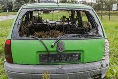 μμένο αυτοκίνητο Στοκ Εικόνες