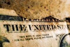 Μμένο δολάριο κοντά επάνω στοκ φωτογραφίες