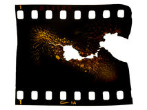 μμένο πλαίσιο ταινιών φωτο&gam Στοκ φωτογραφίες με δικαίωμα ελεύθερης χρήσης