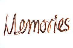 Μνήμες Στοκ εικόνα με δικαίωμα ελεύθερης χρήσης