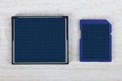 μνήμη καρτών Στοκ Φωτογραφία