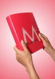 μνήμη κοριτσιών βιβλίων Στοκ Εικόνες