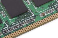 μνήμη υπολογιστών καρτών Στοκ Εικόνες