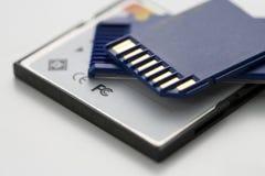 μνήμη SD καρτών Στοκ Φωτογραφία