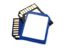 μνήμη SD καρτών στοκ φωτογραφίες