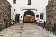Μνημεία στο κάστρο Palanok Στοκ φωτογραφία με δικαίωμα ελεύθερης χρήσης