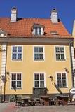 Μνημεία της αρχιτεκτονικής στην παλαιά Ρήγα, Λετονία Στοκ φωτογραφία με δικαίωμα ελεύθερης χρήσης