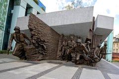 Μνημείο έγερσης της Βαρσοβίας στην Πολωνία Στοκ εικόνα με δικαίωμα ελεύθερης χρήσης