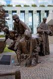 Μνημείο έγερσης της Βαρσοβίας στην Πολωνία Στοκ Φωτογραφίες