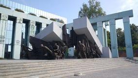 Μνημείο έγερσης της Βαρσοβίας Στοκ εικόνα με δικαίωμα ελεύθερης χρήσης