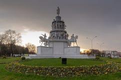 Μνημείο έθνους στην πόλη Square/TURKEY Εσκί Σεχίρ στοκ εικόνα