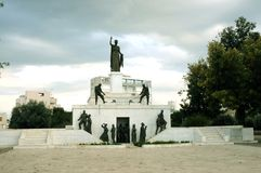 Μνημείο ή Ελευθερία Monument, Λευκωσία ελευθερίας Στοκ φωτογραφίες με δικαίωμα ελεύθερης χρήσης