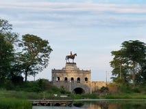 Μνημείο αγαλμάτων αλόγων πάρκων του Λίνκολν Στοκ Εικόνες