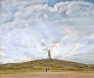 Μνημείο αδελφών Wright στη βόρεια Καρολίνα στοκ φωτογραφία με δικαίωμα ελεύθερης χρήσης