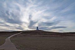 Μνημείο αδελφών Wright Στοκ φωτογραφία με δικαίωμα ελεύθερης χρήσης