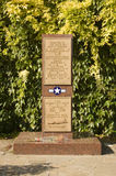 Μνημείο αμερικανικής πολεμικής αεροπορίας, Σάφολκ Στοκ φωτογραφία με δικαίωμα ελεύθερης χρήσης