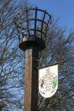 Μνημείο αναγνωριστικών σημάτων στη Rayleigh στοκ φωτογραφίες