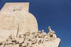 Μνημείο ανακαλύψεων στη Λισσαβώνα Στοκ εικόνες με δικαίωμα ελεύθερης χρήσης