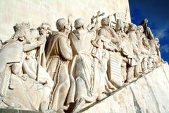μνημείο ανακαλύψεων Στοκ εικόνα με δικαίωμα ελεύθερης χρήσης