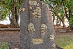 Μνημείο γενναιοδωρίας Hms στο σημείο της Ταϊτή Αφροδίτη στοκ φωτογραφία με δικαίωμα ελεύθερης χρήσης