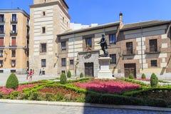 Μνημείο για να φορέσει το Alvaro de Bazan, Μαδρίτη Στοκ εικόνα με δικαίωμα ελεύθερης χρήσης