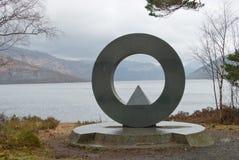 Μνημείο για πεσμένη Στοκ φωτογραφία με δικαίωμα ελεύθερης χρήσης