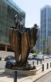 Μνημείο για τον υπουργό Lebanons murderd Πρόεδρος Ραφίκ Χαρίρι στοκ φωτογραφία με δικαίωμα ελεύθερης χρήσης