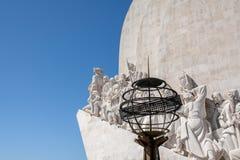 Μνημείο για τους εξερευνητές στο Βηθλεέμ Λισσαβώνα Λισσαβώνα Πορτογαλία Στοκ Φωτογραφίες