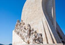 Μνημείο για τους εξερευνητές στο Βηθλεέμ Λισσαβώνα Λισσαβώνα Πορτογαλία Στοκ εικόνα με δικαίωμα ελεύθερης χρήσης