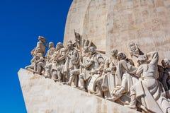 Μνημείο για τους εξερευνητές στο Βηθλεέμ Λισσαβώνα Λισσαβώνα Πορτογαλία Στοκ Εικόνα