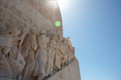 Μνημείο για τους εξερευνητές στο Βηθλεέμ Λισσαβώνα Λισσαβώνα Πορτογαλία Στοκ φωτογραφία με δικαίωμα ελεύθερης χρήσης