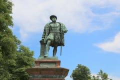 Μνημείο για το Christoph WÃ ¼ rttemberg, δούκας Wuerttemberg, επάνω Στοκ Εικόνες