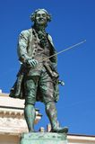 Μνημείο για Tartini, Piran Στοκ Φωτογραφίες