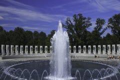 Μνημείο Δεύτερου Παγκόσμιου Πολέμου, Ουάσιγκτον, συνεχές ρεύμα Στοκ Φωτογραφίες