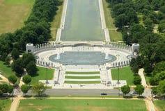 Μνημείο Δεύτερου Παγκόσμιου Πολέμου στο Washington DC, ΗΠΑ Στοκ Εικόνες