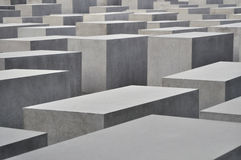 μνημείο Εβραίων της Ευρώπη& στοκ εικόνες με δικαίωμα ελεύθερης χρήσης