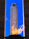 Μνημείο εθνικών σημαιών Στοκ Εικόνες